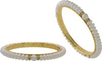 Prisha Collections Alloy Yellow Gold Bangle Set(Pack of 2) best price on Flipkart @ Rs. 1790