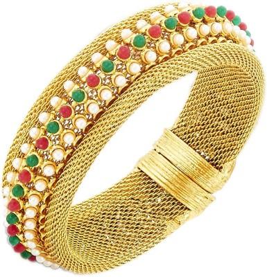 the jewelbox Brass Yellow Gold Cuff