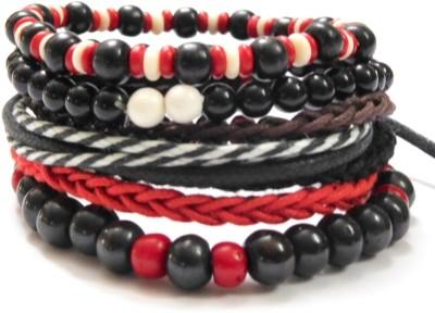Eleganci Wood, Cotton Dori, Plastic Charm Bracelet