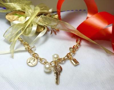 Arkina Diamonds Brass Bracelet