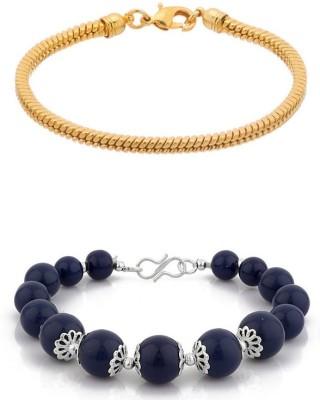 D&D Alloy Silver Bracelet