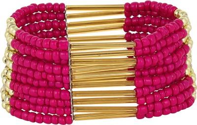Fayon Alloy, Wood Bracelet
