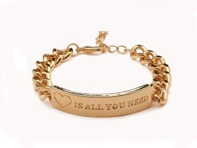 Big Pout Alloy Bracelet