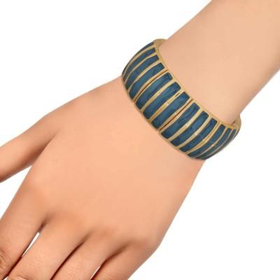 Maayra Alloy Rhodium Bracelet