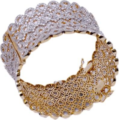 Aarna Jewels Silver Cubic Zirconia Bracelet
