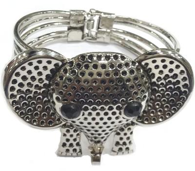 Gurjari Brass Silver Bracelet