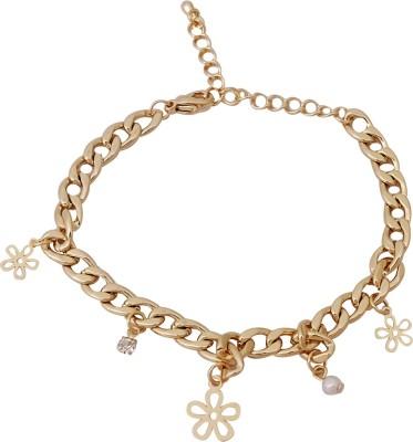 Super Drool Metal Charm Bracelet