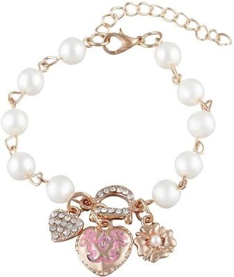 French Aura Alloy Charm Bracelet