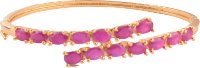 Ganapathy Gems Metal Cubic Zirconia Bracelet