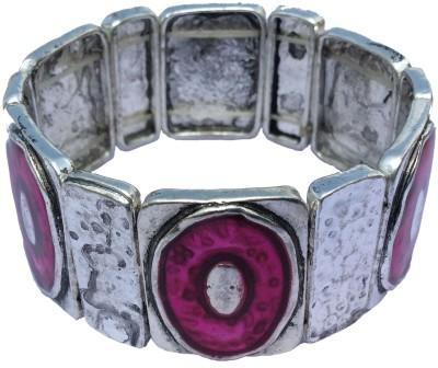 B-Fashionable Alloy, Enamel Rhodium Bracelet