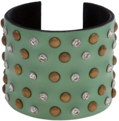 Blueberry Leather Cuff