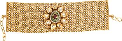 Adwitiya Collection Copper Yellow Gold Bracelet
