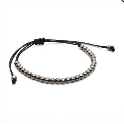 Nezaro Metal Rhodium Bracelet