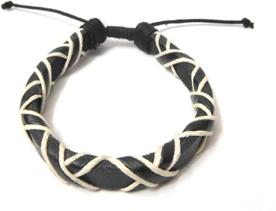 Eleganci Leather, Cotton Dori Bracelet