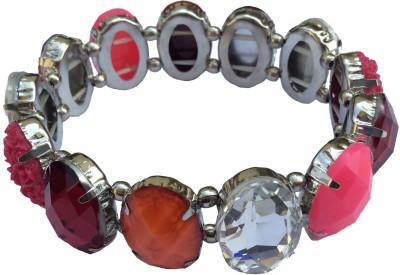 B-Fashionable Brass Rhodium Bracelet