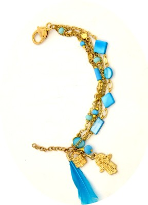 Galz4ever Shell 10K Rose Gold Bracelet