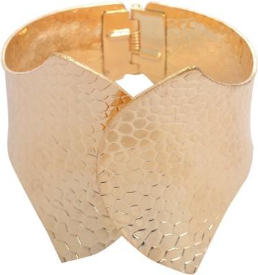 Yoana Metal Yellow Gold Cuff