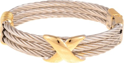 Cygnet Jewels Alloy Yellow Gold, Rhodium Bracelet