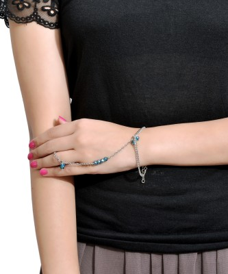 Trinketbag Alloy, Glass Ring Bracelet