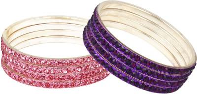 Bling N Beads Metal Bangle Set
