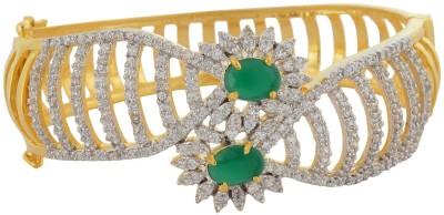 Waama Jewels Bronze Zircon Yellow Gold Bracelet