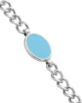 AQ Alloy Onyx Brass Bracelet