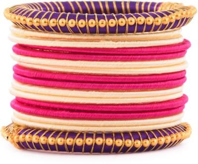 Kuhuk Plastic, Silk Dori Bangle Set