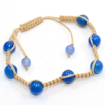 Silvesto India Stone Chalcedony Bracelet