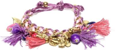 Kook N Keech Metal Crystal Enamel Bracelet