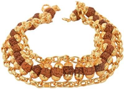 Eshopee Alloy Yellow Gold Bracelet at flipkart