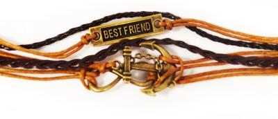 Jewel Touch Leather Bracelet