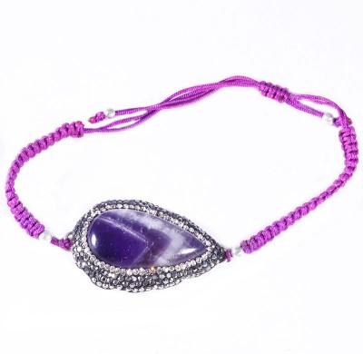 Jewels Mountain Silver Amethyst Bracelet