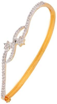 the jewelbox Copper Cubic Zirconia Yellow Gold Bracelet