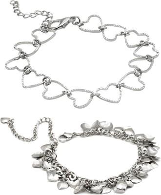 Trend Arrest Alloy Bracelet Set
