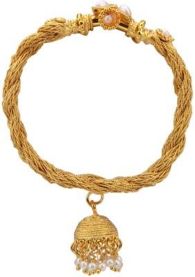 ADIVA Brass Yellow Gold Bracelet