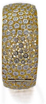 Jewelfin Alloy Rhodium Bracelet