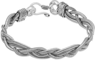 Gemshop Alloy Silver Bracelet at flipkart