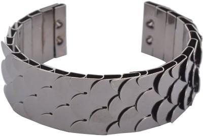 Yoana Metal Black Silver Cuff