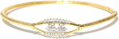 Zaveri Pearls Brass 18K Yellow Gold Bracelet