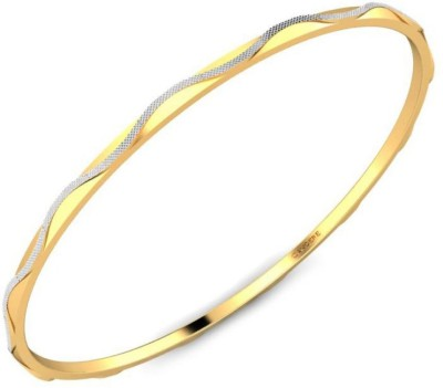 Candere Sumona Yellow Gold 22kt Bangle