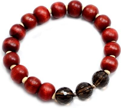 SilvestoIndia Stone, Wood Quartz Bracelet