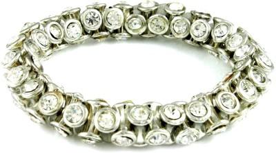The Art Jewellery Alloy Rhodium Bracelet