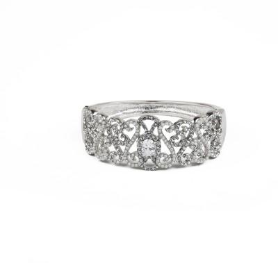 Jewelfin Alloy Silver Bracelet