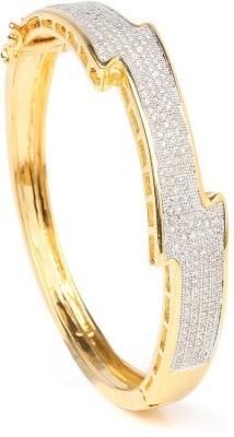 Altiri Metal Cubic Zirconia Yellow Gold Bracelet