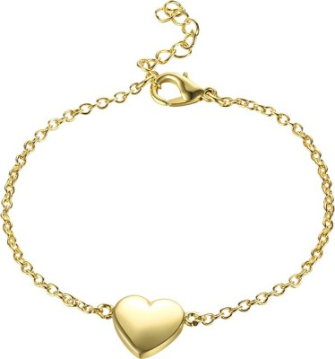 Yellow Chimes Metal Bracelet