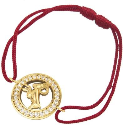 Jewelslane Gold, Silver, Copper, Fabric Bracelet