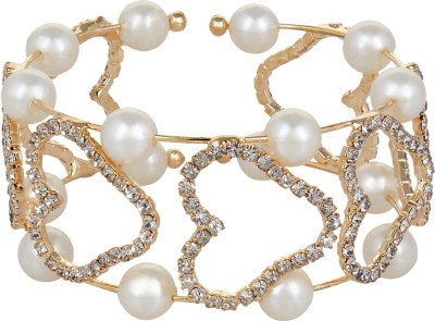 A&P ENTERPRISES Alloy Pearl Bracelet