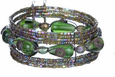 DCA Glass Silver Bracelet