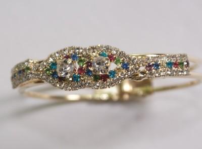 FASHION BAZAAR Copper Crystal Copper Bracelet