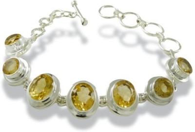 Miska Silver Silver Citrine Silver Bracelet at flipkart